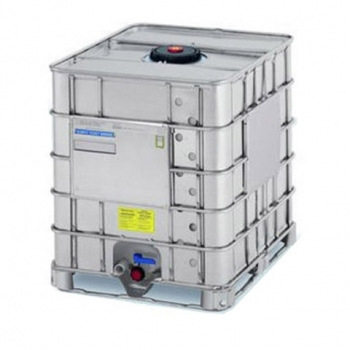 Reconditioned metal container IBC 1000 L, -SX, EX with UN metal pallets